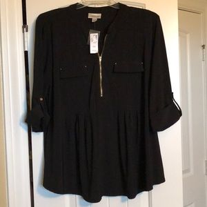 NWT Avenue Zippered Blouse in 18/20